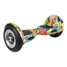 """Spirit Hoverboard 10"""", kolonožka, graffiti"""