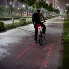 Svetlo zadné PRO-T Plus 5 diód + Laser